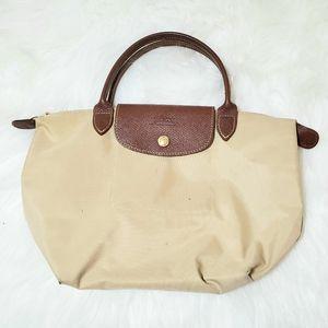 Longchamp Le Pliage Tote Bag Small Cream